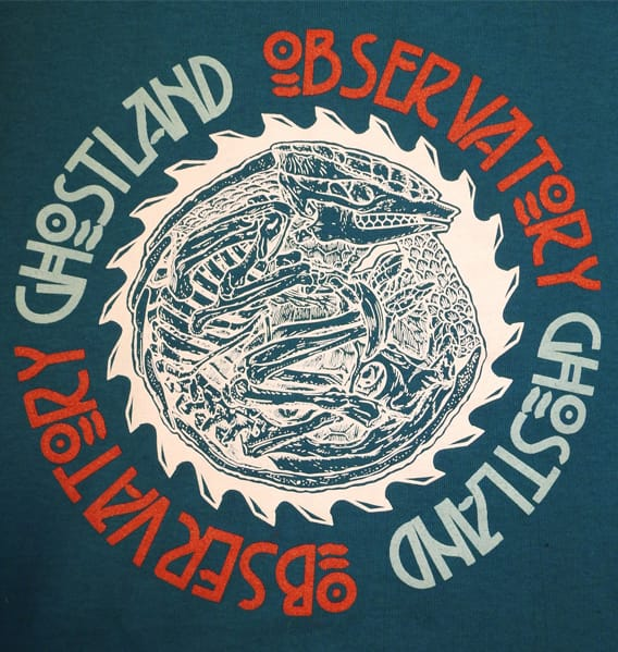 Ghostland t-shirt design
